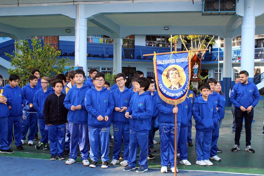 Celebración del día del alumno en Iquique
