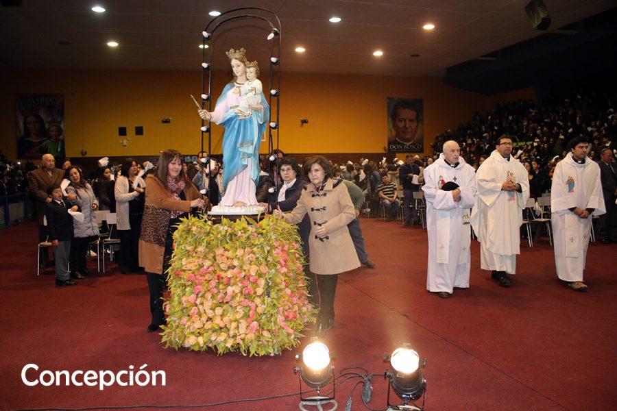 Obras salesianas de todo el país celebran a María Auxiliadora