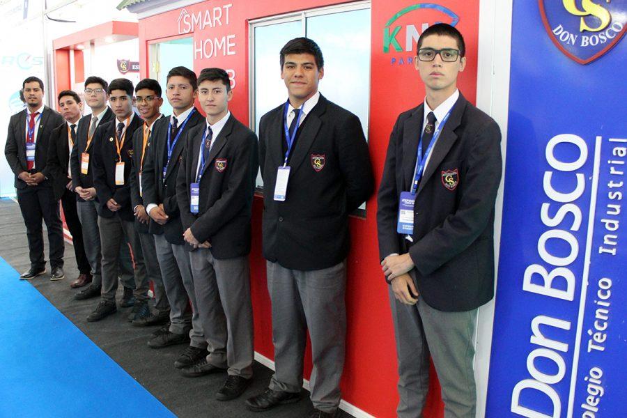 Alumnos salesianos participaron en Exponor 2019