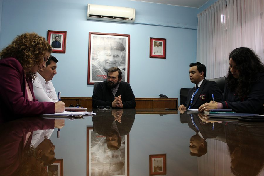 P. Carlo Lira visitó Obra Salesiana de Antofagasta