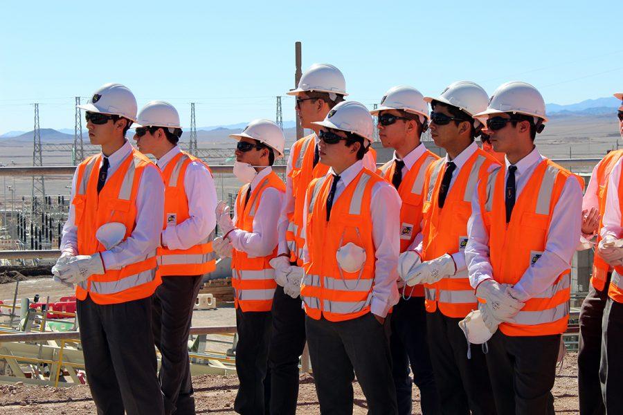 Estudiantes visitaron proyecto SGO de Minera Spence
