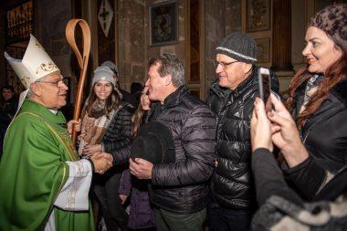 Mons. Alberto Lorenzelli presidió su primera misa en Catedral Metropolitana