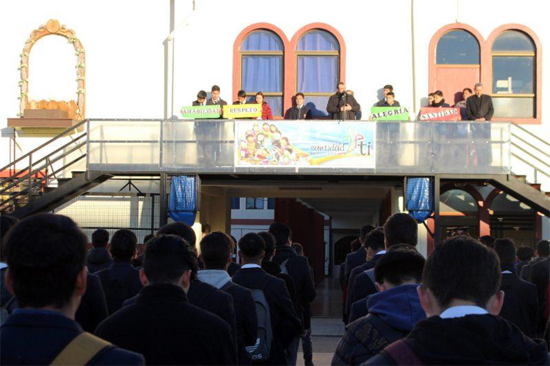 P. Carlo Lira visita obra salesiana de La Serena