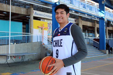 Alumno de Antofagasta seleccionado nacional básquetbol U15