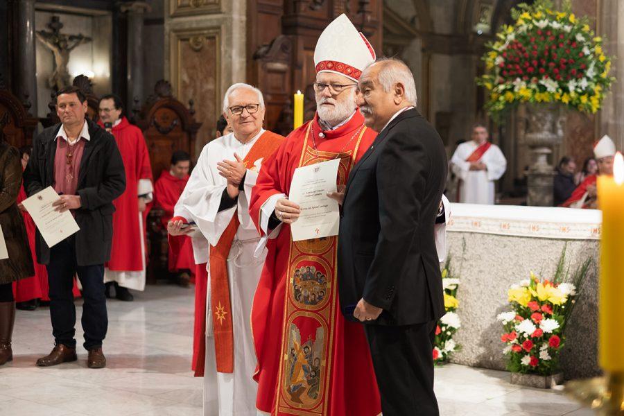 Salesiano cooperador recibe Cruz del Apóstol Santiago