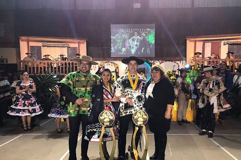 Alumno Salesiano Campeón Nacional de Cueca