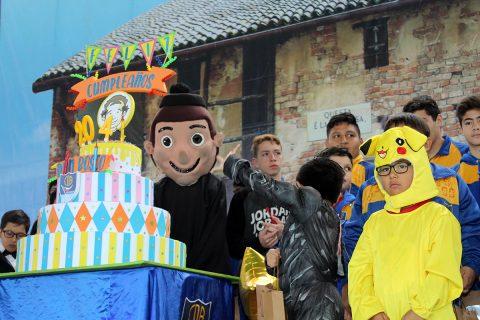 Cumpleaños 204 de San Juan Bosco en Iquique