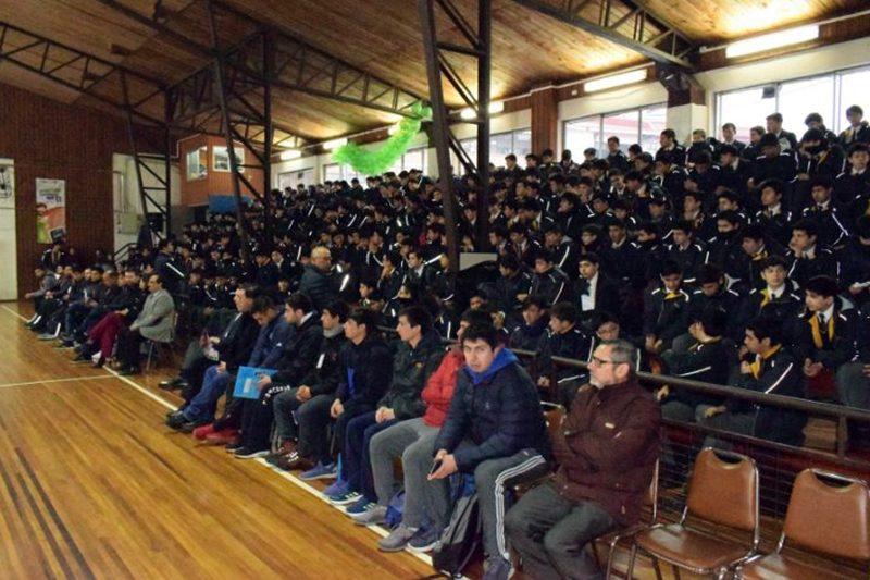 Campeonato Nacional de Básquetbol Salesiano en Valdivia