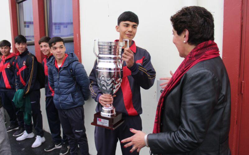 Salesianos La Serena se coronó Campeón Regional de futbolito