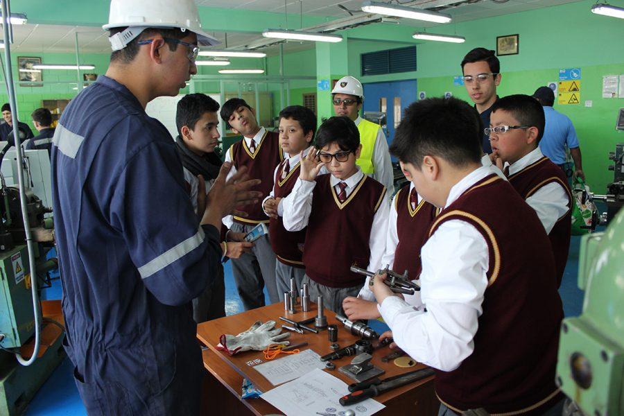 Conmemoración del día de la Educación Técnico Profesional