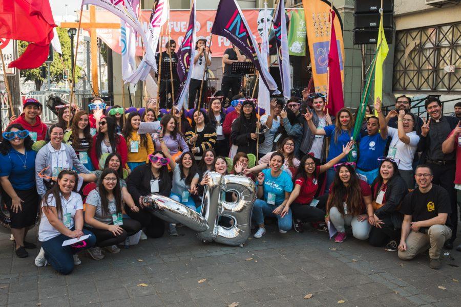 El MJS animó a los peregrinos hacia el Santuario del P. Alberto Hurtado