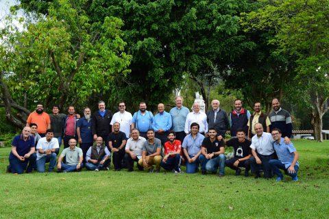 P. Carlo Lira visita Centro de Formación Salesianos Coadjutores en Guatemala