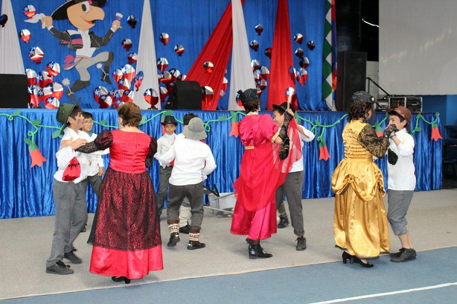 Acto Cívico de Fiestas Patrias en Iquique