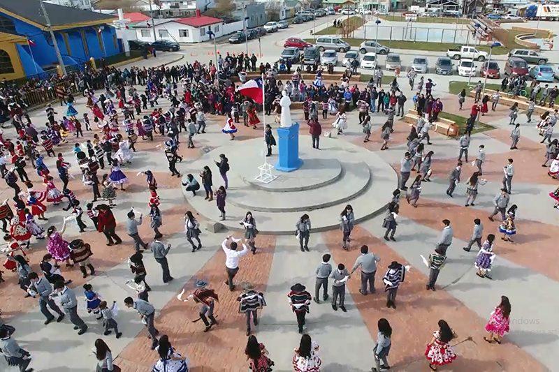 Oración por Chile y cuecatón en Puerto Natales