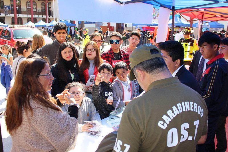 Feria promovió la vida sana y autocuidado en La Serena