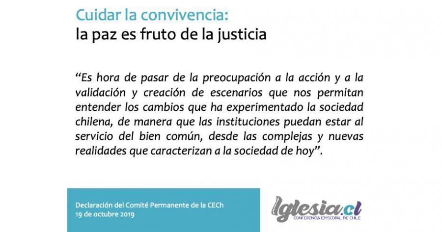 Cuidar la convivencia: la paz es fruto de la justicia
