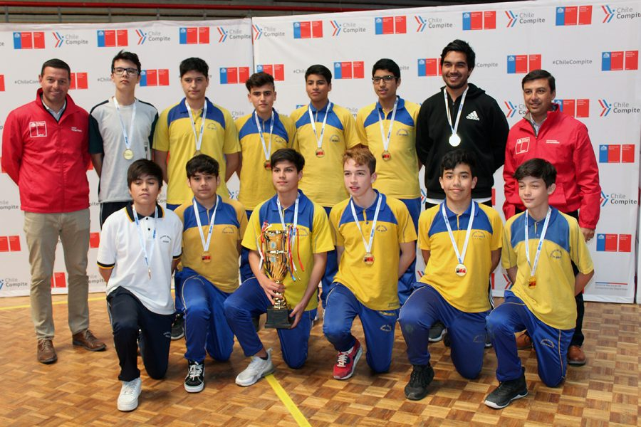 Don Bosco Iquique primer lugar en básquetbol Sub 14 varones