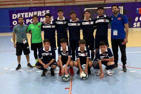 Colegio Salesiano La Serena clasificó a cuartos de final de Juegos Deportivos Escolares