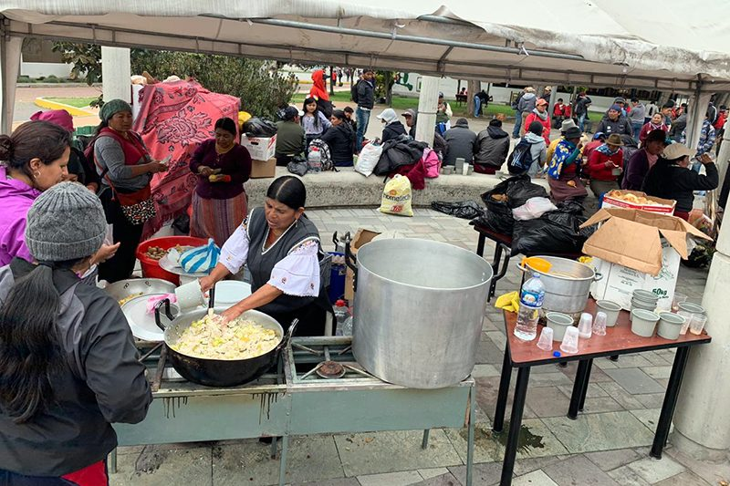 Universidad Salesiana acoge a más de 3 mil indígenas en Ecuador
