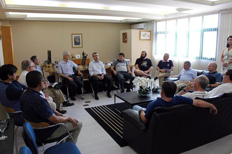 P. Carlo Lira participó en Encuentro de Inspectores región América Cono Sur
