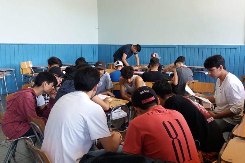 """Cabildo ciudadano """"El Chile que yo quiero"""" en Salesianos Alameda"""