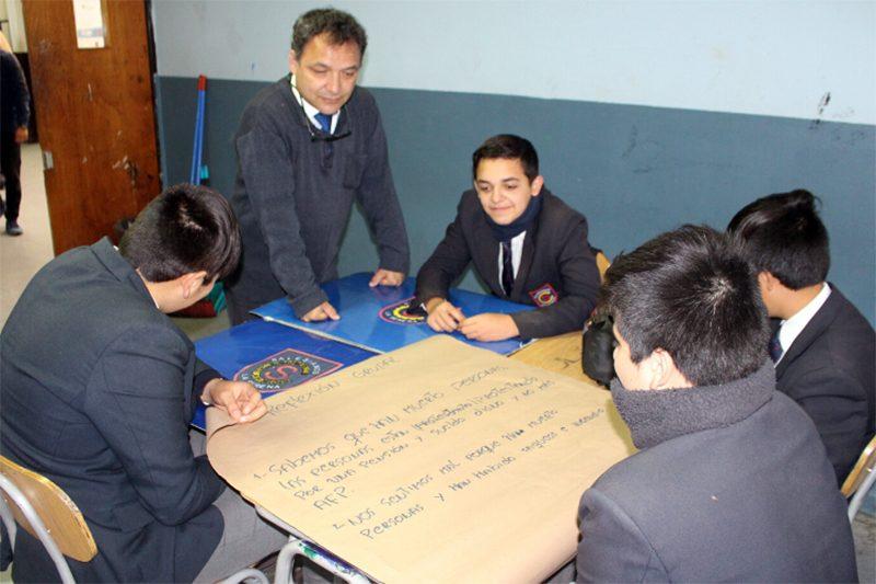 Estudiantes Escuela Salesiana La Serena reflexionan sobre el estallido social