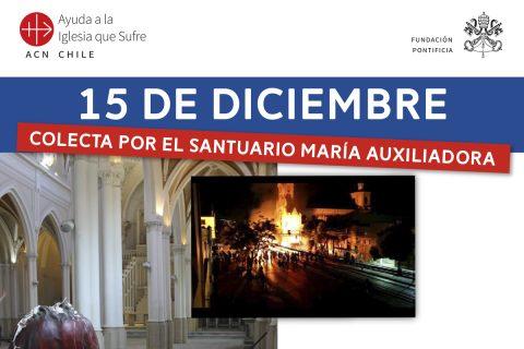 Juntos restauremos el Santuario María Auxiliadora de Talca