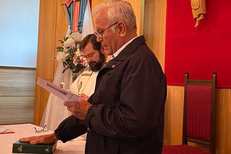 Toma posesión nuevo director presencia salesiana de Punta Arenas