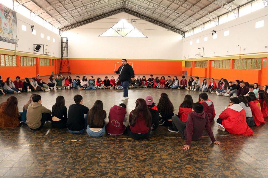 Campamento de formación MJS en patagonia argentina