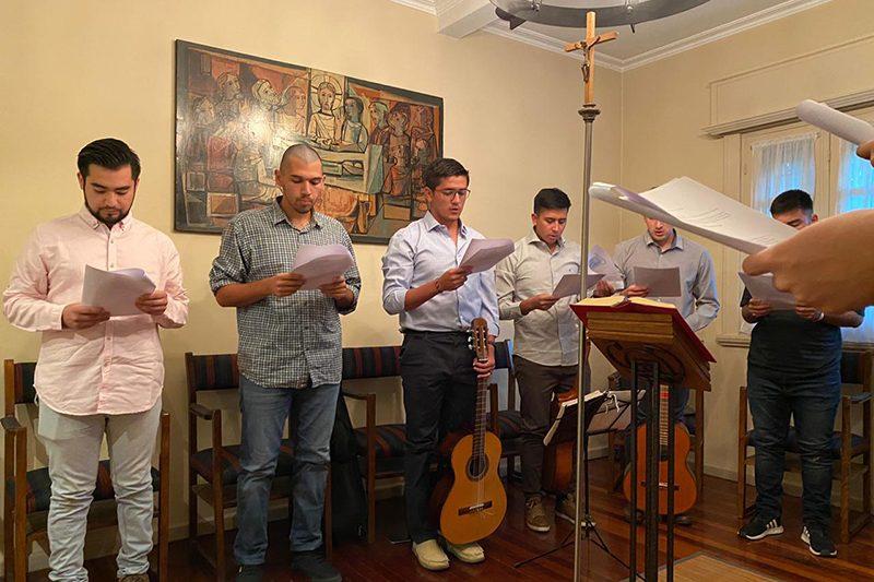 Inicio de actividades del Noviciado en Uruguay