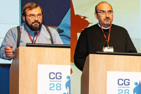 Ya están en Chile P. Carlo Lira y P. David Albornoz