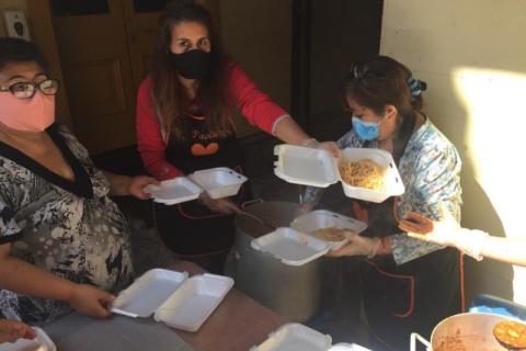 """Comedor """"Divina Provincia"""": testimonio de solidaridad en tiempos de pandemia"""