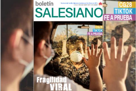 Boletín Salesiano: fragilidad en tiempos de pandemia