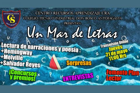 Don Bosco Antofagasta celebrará a la literatura en el mes del mar