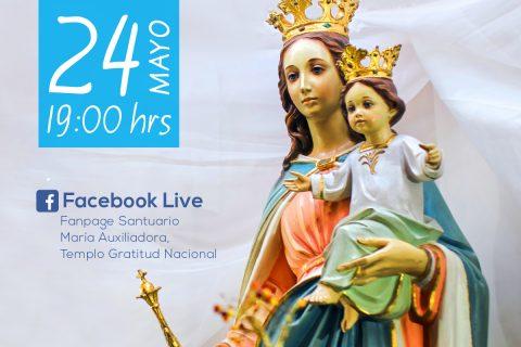 La Iglesia unida para pedir el auxilio de María