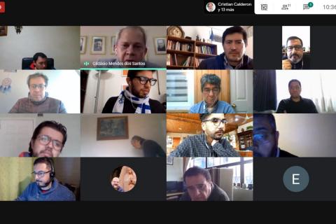 Consejero general para Comunicación Social en encuentro de formación virtual