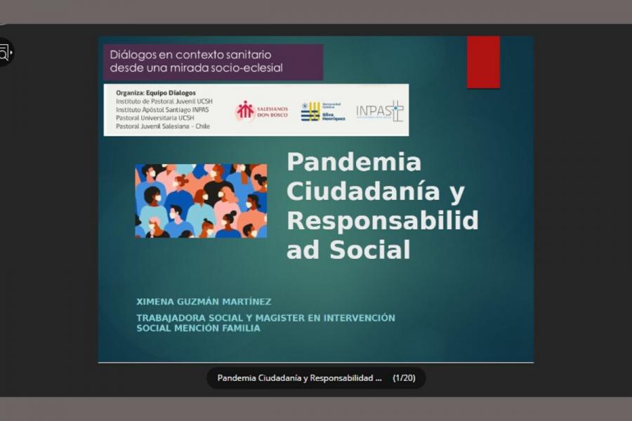 Diálogos: pandemia, ciudadanía y responsabilidad social