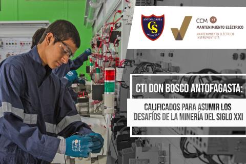 Alto reconocimiento de calidad a especialidad del colegio Don Bosco Antofagasta