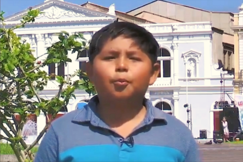 Alumno salesiano de Iquique aparece en la docu-animación chilena Pichintún