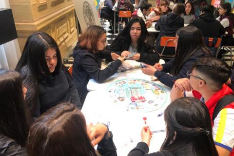 Alumnas de Domingo Savio San Ramón obtienen premio en torneo de debate estudiantil