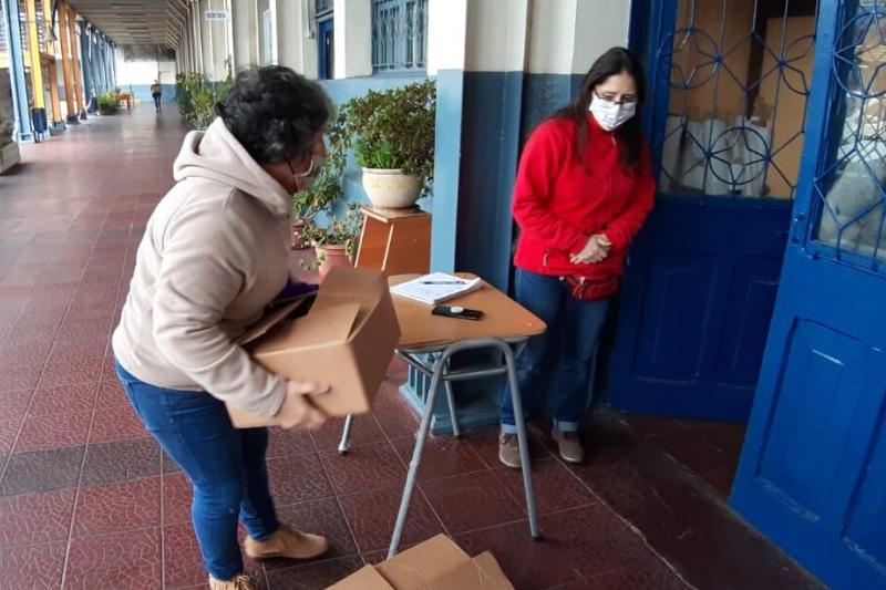 Tiempos de colaboración y solidaridad en Centro educativo Salesianos Talca