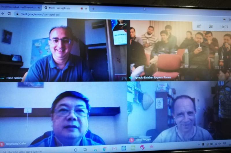 Encuentros Posnoviciado Argentina: Jóvenes Salesianos y Acompañamiento
