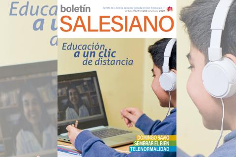 Educación a distancia en la nueva edición del Boletín Salesiano
