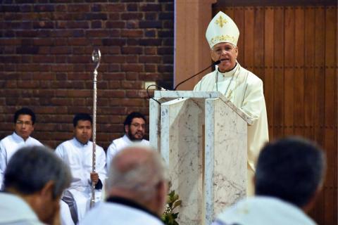 Fundación Padre Jaime destaca labor sacerdotal de Mons. Alberto Lorenzelli