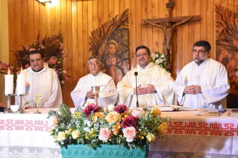 Inicio Semana Salesiana 2020 en Puerto Natales