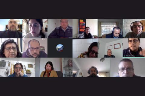 Jornada coordinadores HC – TP: Acompañamiento pedagógico constante y cercano