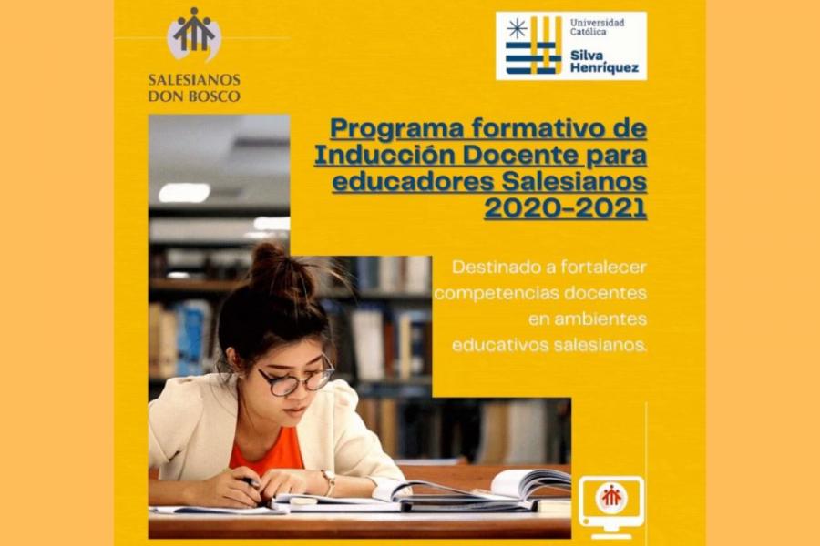 Ceremonia de inicio programa de inducción docente para educadores salesianos