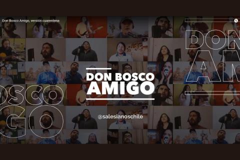 """Cantar a una voz """"Don Bosco Amigo"""""""