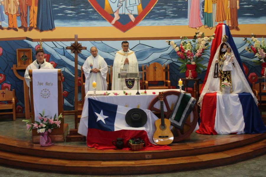 Te Deum de acción de gracias en Colegio Técnico Don Bosco de Antofagasta