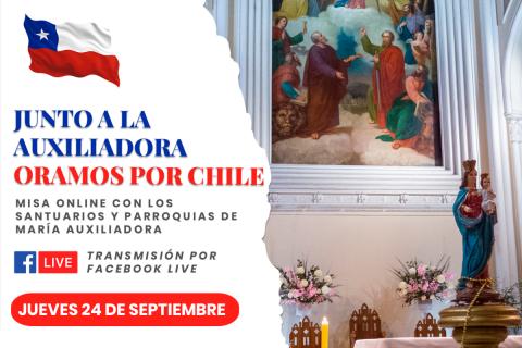 Junto a la Auxiliadora oramos por Chile